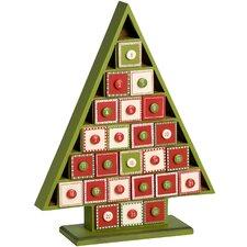 Advent Calendar Tree Christmas Decoration