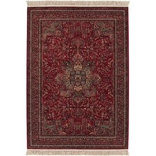 <strong>Couristan</strong> Kashimar All Over Center Medallion/Antique Red Rug
