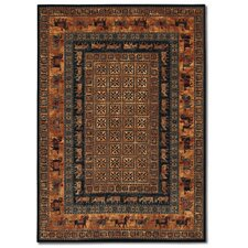 <strong>Couristan</strong> Old World Classics Pazryk Burnished Rust Rug