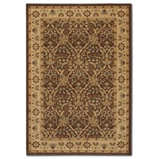 Pera Birjand Chocolate/Latte Rug