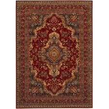 Old World Classics Kerman Medallion Burgundy Rug