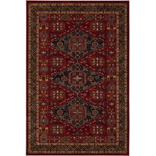 Old Word Classics Kashkai Burgundy Rug