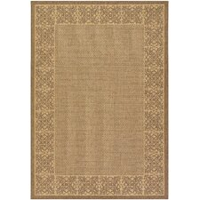 Recife Summer Chimes NaturalCocoa Indoor/Outdoor Rug