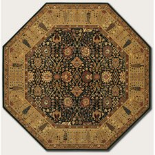 Royal Kashimar Cypress Garden Black Rug