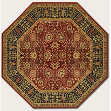 Royal Kashimar Cypress Garden Persian Red Rug