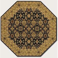 Royal Kashimar All Over Vase Black Rug