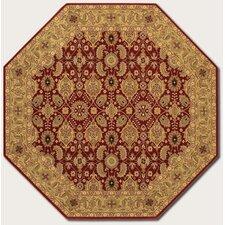 Royal Kashimar All Over Vase Red Area Rug