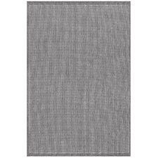 Recife Saddle Stitch Grey/White Indoor/Outdoor Rug