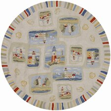 Outdoor Escapes Cape Hatteras Novelty Rug