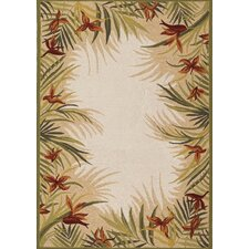 Covington Sand Multi Tropic Garden Indoor/Outdoor Rug