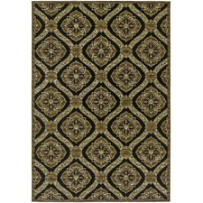 Dolce Black-Gold Napoli Indoor/Outdoor Rug