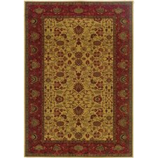 <strong>Couristan</strong> Everest Tabriz/Harvest Gold Rug
