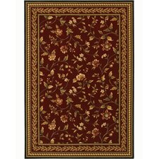 <strong>Couristan</strong> Royal Luxury Winslow Bordeaux Rug