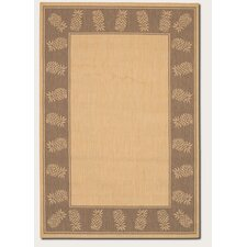 Recife Tropics Natural/Cocoa Novelty Rug