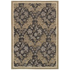 <strong>Couristan</strong> Palermo Black Rug