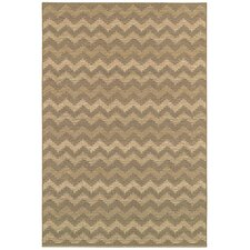 Berkshire Alaric Brown/Tan Indoor/Outdoor Area Rug