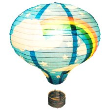 Rainbow Hot Air Balloon Paper Lantern Shade