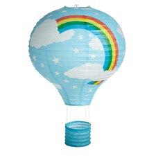 Rainbow Hot Air Balloon Paper Lantern Shade