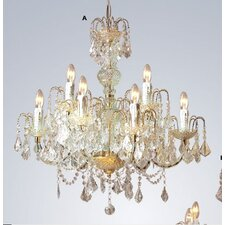 Vivaldi 9 Light Chandelier