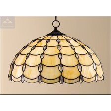 <strong>Loxton Lighting</strong> Jewel Tiffany 1 Light Bowl Pendant