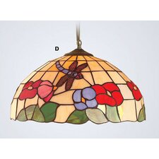 Beige Dragonfly Tiffany Light Pendant Shade