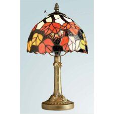 Maple Leaf Tiffany Table Lamp