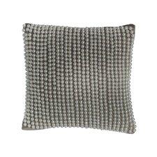 All Over Pearl Velvet Square Pillow