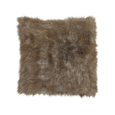 Faux Fur Square Pillow
