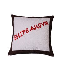 <strong>Cloud9 Design</strong> Ships Ahoy! Pillow