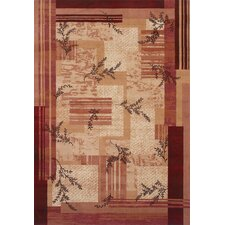 <strong>Shaw Rugs</strong> Inspired Design Notting Hill Red/Gold Rug