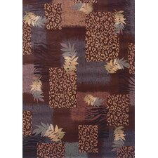 <strong>Shaw Rugs</strong> Inspired Design Majesty Brown Multi Rug