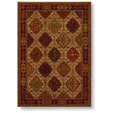 Reverie Bennington Red/Beige Rug
