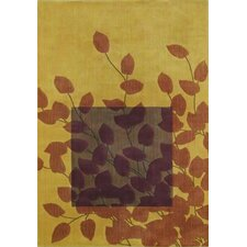 Reverie Haiku Gold Rug