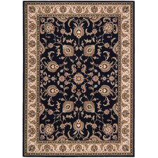Arabesque Coventry Cannon Black Rug