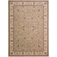 <strong>Shaw Rugs</strong> Arabesque Coventry Pale Leaf Rug