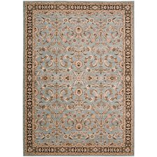<strong>Shaw Rugs</strong> Arabesque Juliard Blue Smoke Rug