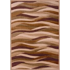 <strong>Shaw Rugs</strong> Impressions Dunes Brown/Red Rug
