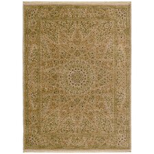 <strong>Shaw Rugs</strong> Antiquities Mosque Medallion Beige Rug