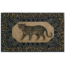 Reflections Leopard Novelty Rug