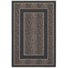 <strong>Shaw Rugs</strong> Woven Expressions Gold Safari Skin Chocolate Rug