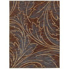 Mirabella Acanthus Brown/Blue Rug