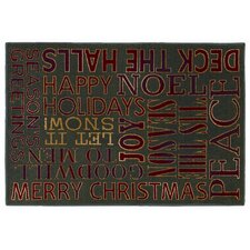 Holiday Greatings Rug