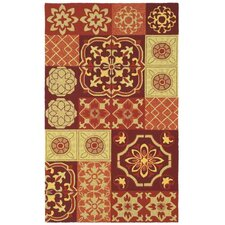 <strong>Shaw Rugs</strong> Garden Craft Multi-Color Tile of Paradise Rug