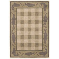 Lake House Beige Rug