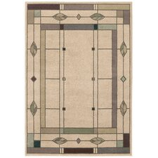 Mission Leaf Beige Rug