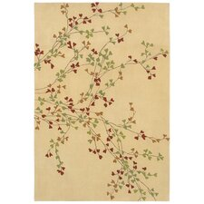 Loft Beige Winter Bloom Rug