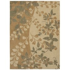 <strong>Shaw Rugs</strong> Pacifica Antique Gold Flora Bella Rug