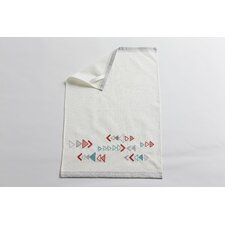 Triangle Embroidered Kitchen Towel (Set of 2)