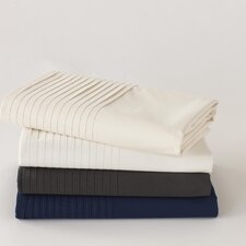 <strong>Coyuchi</strong> Pin Tuck 300 Percale Sheet Set