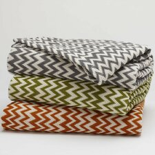 <strong>Coyuchi</strong> Zigzag Throw Coverlet